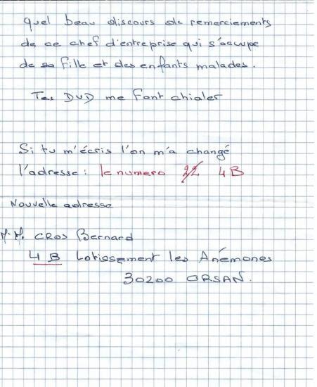 Bernard Cros 3-3
