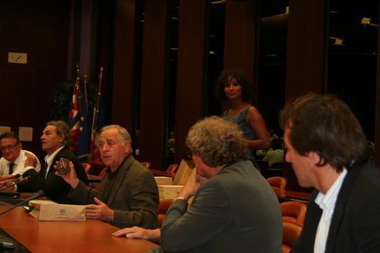 Réception au Conseil Régional