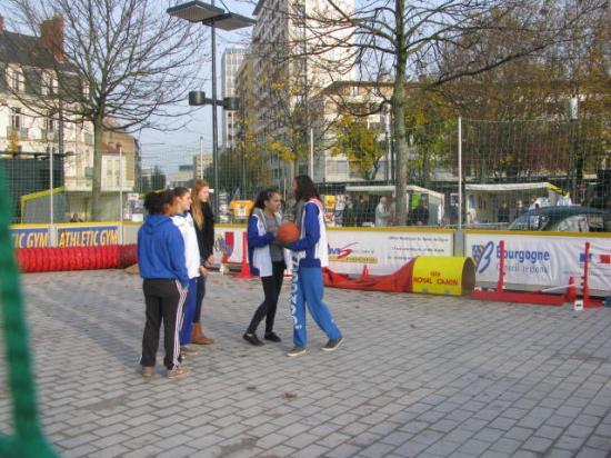 Les jeunes Basketteuses du CSLD