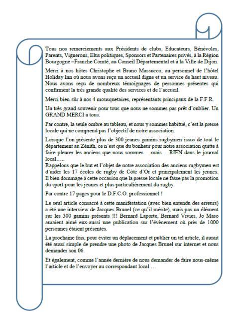 Article 23 mai